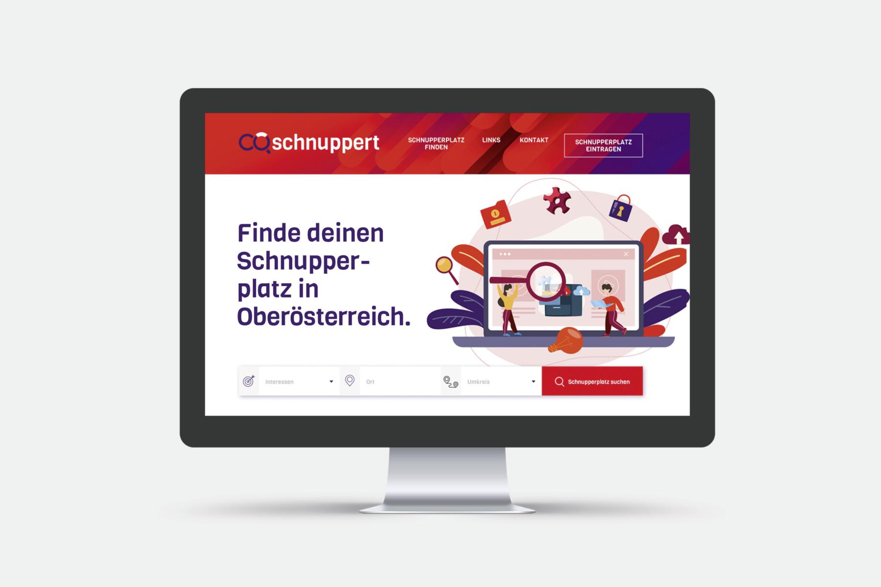 website-startseite-oöschnuppert-b2-werbeagentur