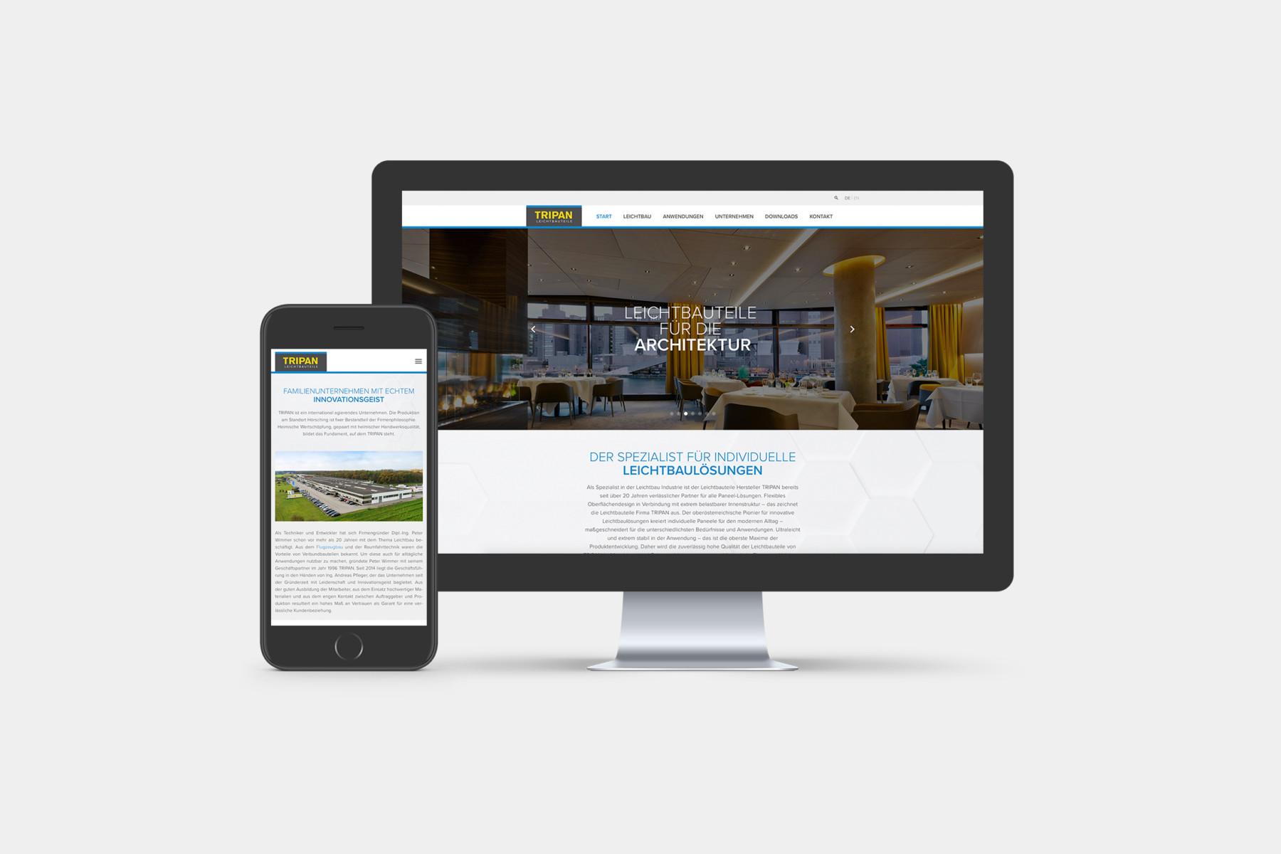 website-startseite-tripan-b2-werbeagentur